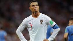 Ronaldo schied bei der WM mit Portugal im Achtelfinale aus