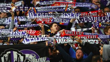 Die Anderlecht-Anhänger sorgten für einen Spielabbruch