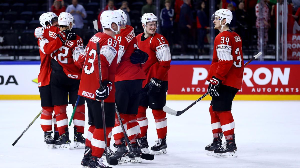 Die Schweizer Eishockey-Mannschaft besiegte Neuling Italien deutlich