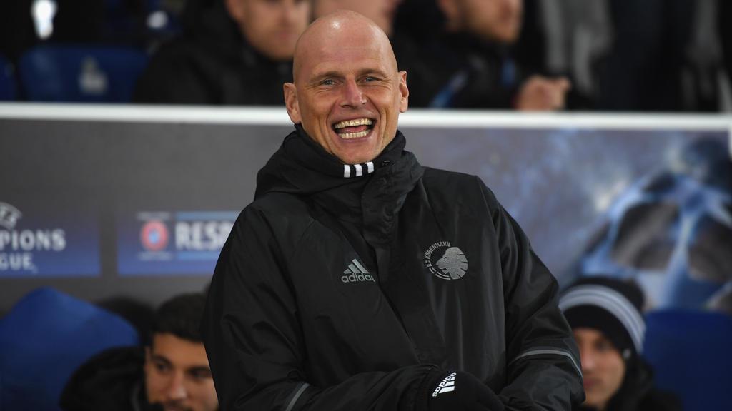 Stale Solbakken ist dänischer Meister mit dem FC Kopenhagen