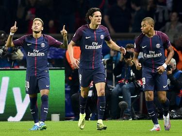 Ninguno de los delanteros titulares del PSG jugará esta jornada. (Foto: Getty)