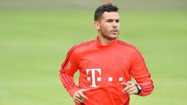 Hat beim FC Bayern das Training aufgenommen: Rekordeinkauf Lucas Hernández