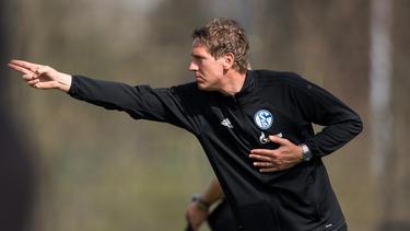 Frank Fahrenhorst betreut die U17 des FC Schalke 04