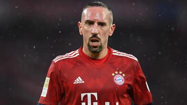 Franck Ribéry kehrte dem FC Bayern im Sommer den Rücken