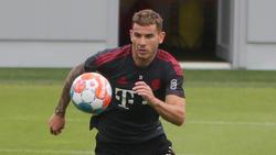 Lucás Hernández ist zurück im Mannschaftstraining
