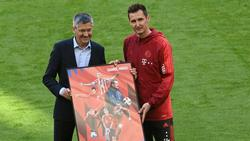 Klose wurde im Mai in München verabschiedet