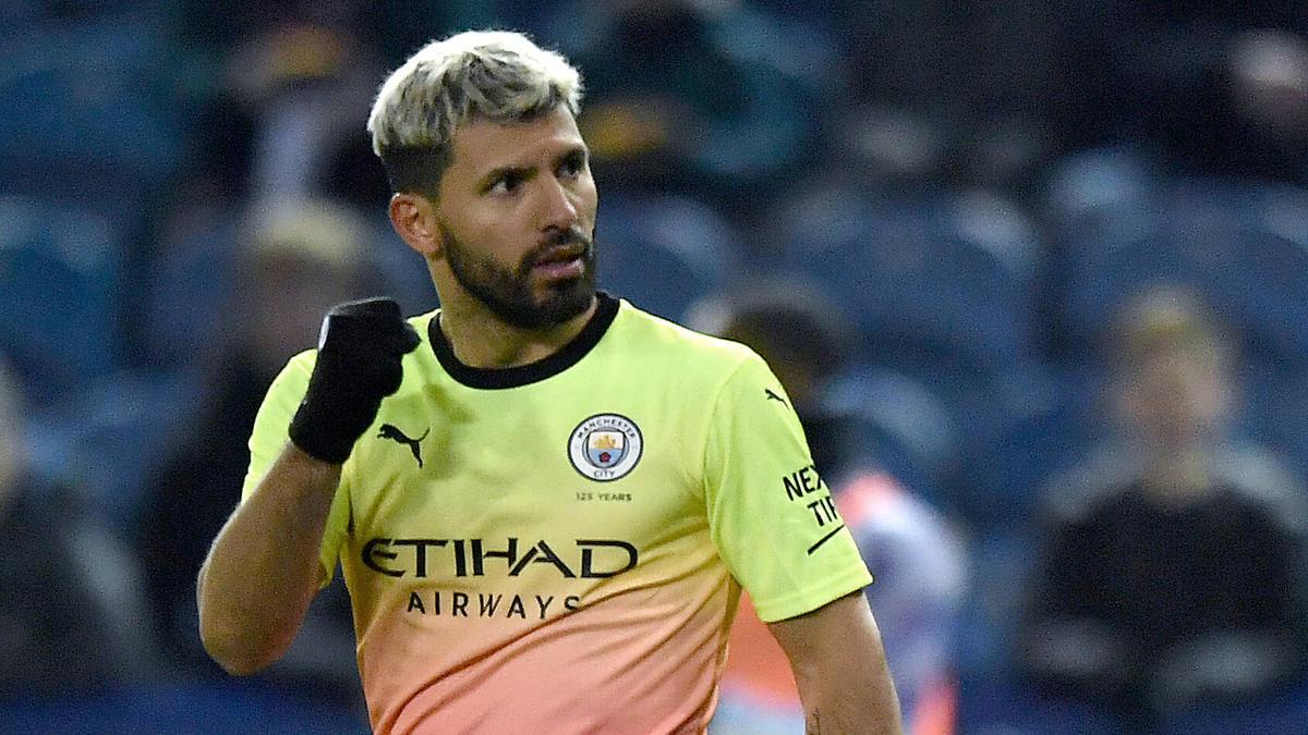 Kun Agüero erzielte den Siegtreffer für Manchester City