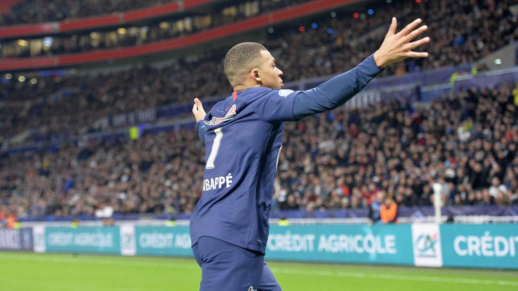 Zum zweiten Mal Torschützenkönig in Frankreich: PSG-Star KylianMbappé