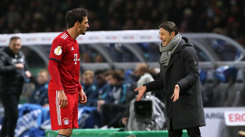 Mats Hummes und Niko Kovac hatten beim FC Bayern Differenzen