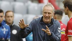 Christian Streich warnt seinen SC Freiburg vor dem FC Schalke 04