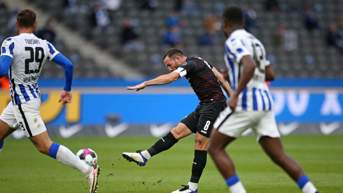 Castro erzielte das 2:0 für den VfB