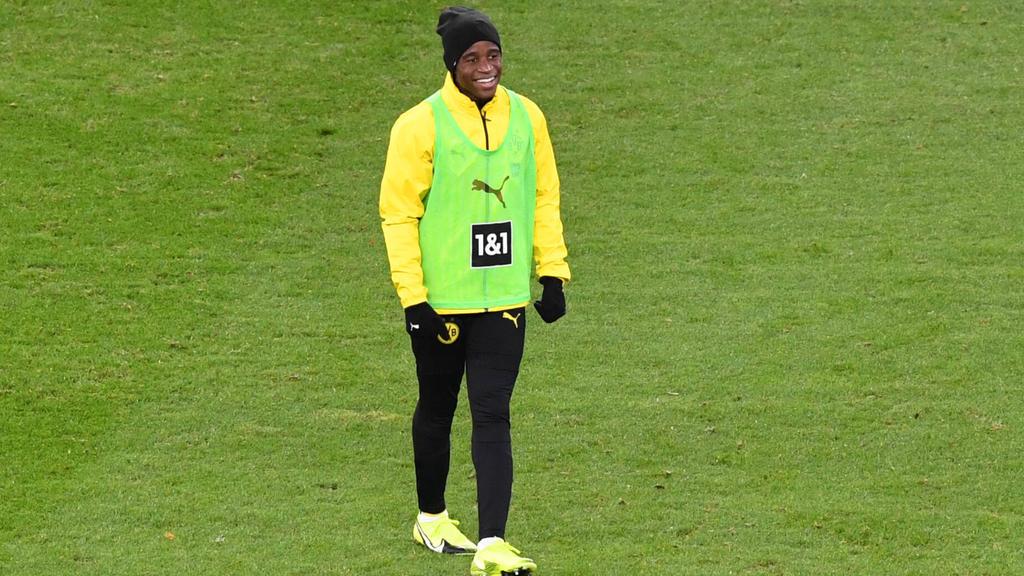 Youssoufa Moukoko hat den Sprung in den Dortmunder Profi-Kader geschafft