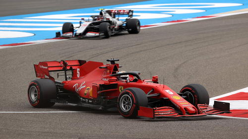 Sebastian Vettel wurde im 3. Freien Training nur 13.