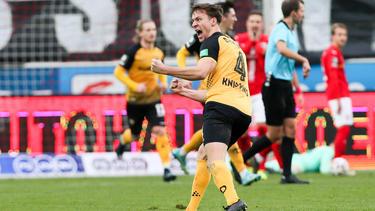 Dynamo Dresden schwebt weiter auf Wolke sieben
