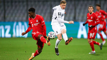 Sieg für die U23 des FC Bayern in der 3. Liga