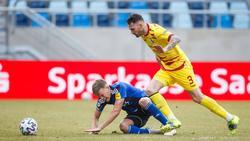 Der MSV Duisburg ging gegen den 1. FC Saarbrücken unter