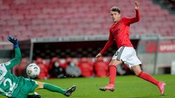 Seit Sommer für Benfica am Ball: Luca Waldschmidt