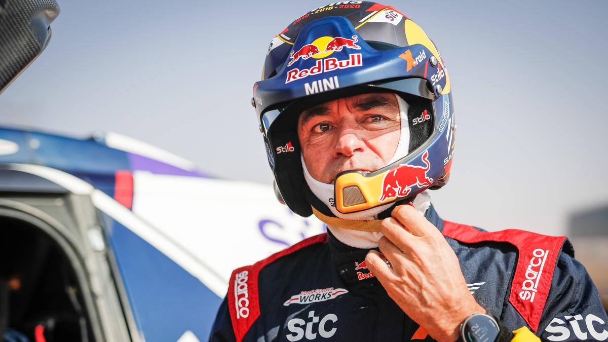 Carlos Sainz kritisierte im Jahr 2021 die Navigation bei der Rallye Dakar