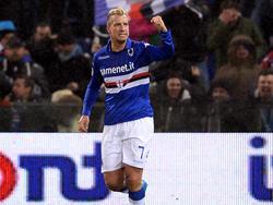 Sampdorias Maxi Lopez erzielte den einzigen Treffer im Stadtderby von Genua