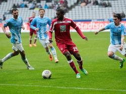 Olivier Occéan war beim 1. FC Kaiserslautern nicht erfolgreich