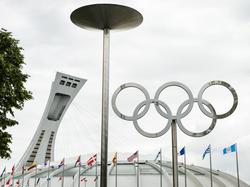 Das Olympiastadion von Montreal in Erwartung zweier WM-Neulinge