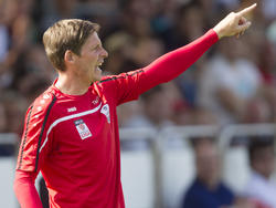 Oliver Glasner möchte den LASK in der Bundesliga etablieren, da käme ihm der Aufstieg heuer schon nur allzu recht
