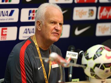 Bernd Stange begann mit Singapur noch die WM-Quali
