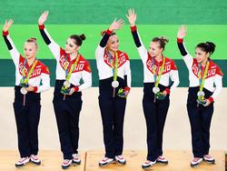 Silber für Russland