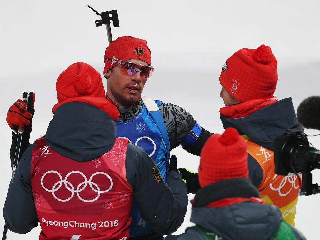 Hat das Karriereende noch nicht im Visier: Biathlon-Olympiasieger Arnd Peiffer