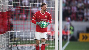 Ron-Robert Zieler ist der Torwart des VfB Stuttgart