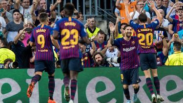 El FC Barcelona ha ganado todos los partidos de esta campaña. (Foto: Imago)