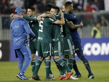 El Palmeiras sacó un gran resultado en Chile. (Foto: Imago)