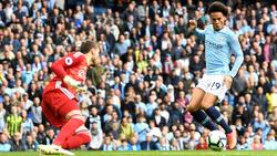 Leroy Sané lieferte gegen Fulham eine Gala-Vorstellung ab