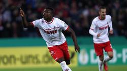 Könnte in der Startelf gegen den Hamburger SV stehen: Jhon Córdoba vom 1. FC Köln