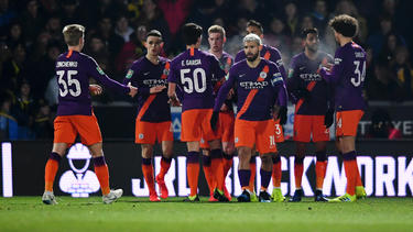 Manchester City steht im Finale des League Cups