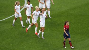 England ging gegen Norwegen schon früh in Führung