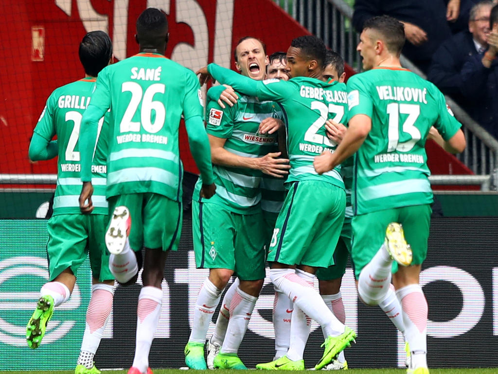Werder Bremen ist die Mannschaft der Stunde in der Bundesliga