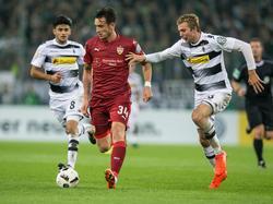 Borys Tashchy (M.) stürmt künftig für den MSV Duisburg