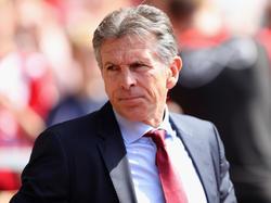 Claude Puel war zuvor beim FC Southampton tätig