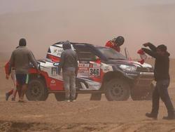 Nach einem Crash ist die Rallye Dakar für André Villas-Boas vorbei