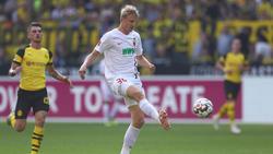 Martin Hinteregger will vom FC Augsburg zu Eintracht Frankfurt wechseln