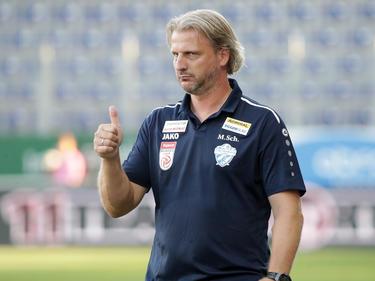 Markus Schopp ist mit den jüngsten Auftritten seines Teams einverstanden