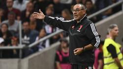 Lungenentzündung: Trainer Sarri verpasste den Ligastart