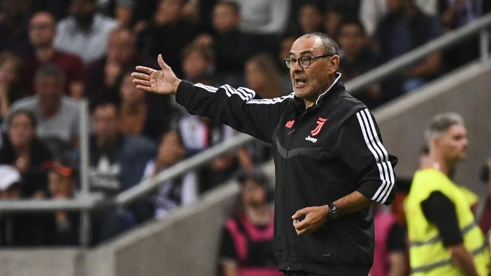 Juve-Trainer Maurizio Sarri soll sich erholen