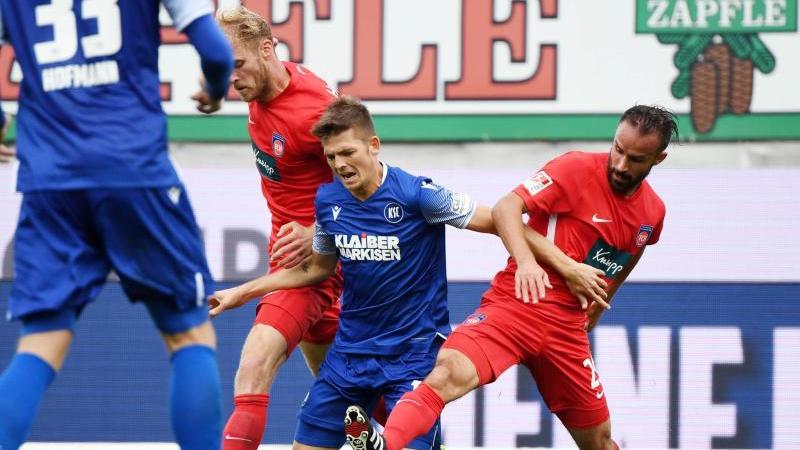 Der Karlsruher SC und der 1. FC Heidenheim trennten sich 1:1