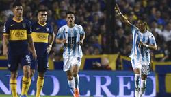 Zaracho marcó el gol del triunfo del Racing.