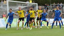 Im Topspiel gegen den 1. FC Magdeburg zog der BVB II den Kürzeren