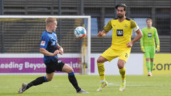 Emre Can (r.) lief im BVB-Test gegen Paderborn als Kapitän auf