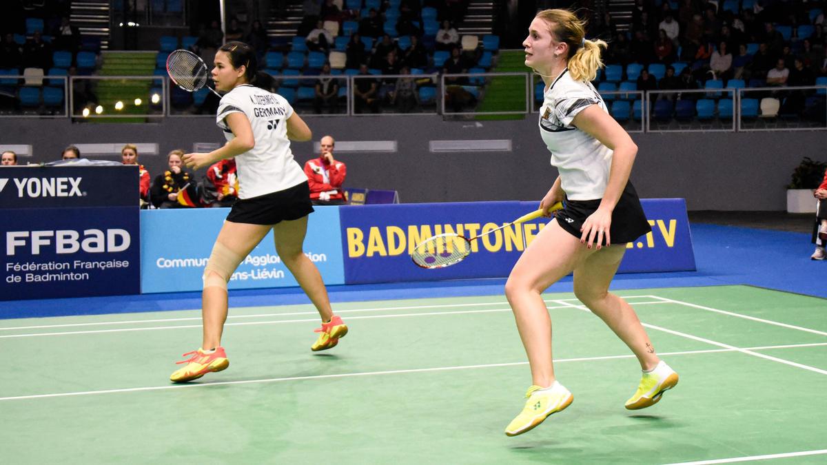 Die deutschen Badminton-Damen verloren das EM-Endspiel gegen Dänemark