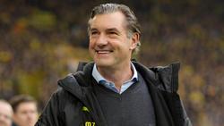 Michael Zorc ist seit mehr als 20 Jahren BVB-Sportdirektor